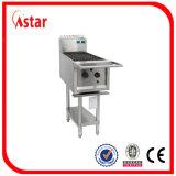 Constructeur en acier de gril de barbecue de gaz de haute performance de 7 becs S.
