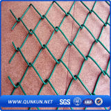 Sale에 중국 Factory Supply Best Quality Metal Mesh Diamond Mesh Fencing