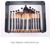 11PCS línea magnética al por mayor cepillo del maquillaje