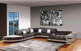 Sofá Home para o sofá do couro da sala de visitas, sofá moderno do canto da mobília ajustado com secional