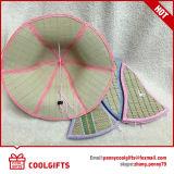 Vente en gros Chapeau de paille pliable en bambou personnalisé pour enfants
