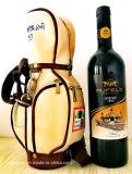 Mini bolso de golf del regalo para la promoción del vino rojo