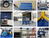 Los cilindros de doble tijera Plataforma de elevación manual