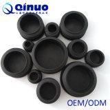 ajustage de précision de pipe en plastique carré rond noir d'acier inoxydable de 10-50mm