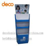 Papierausstellungsstand-Pappspeicher-Bildschirmanzeige für Einzelverkauf