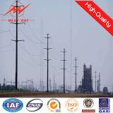 220kv galvanisiertes polygonales Leistungs-Übertragungs-Gefäß Pole