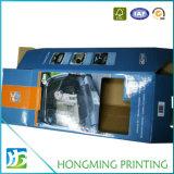 Rectángulo de empaquetado impreso insignia de encargo del rectángulo de regalo del rectángulo de papel de las muñecas