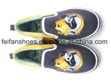 A boa qualidade caçoa as sapatas dos calçados do esporte das sapatas de lona da injeção (FFHH1230-07)
