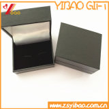 Caja de terciopelo azul de encargo, caja de terciopelo Negro de la moneda