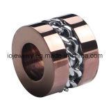 Perla de acero inoxidable de la joyería de los hombres de la manera
