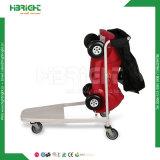 Supermarkt-nistbare Kinder Shooping Laufkatze mit Spielzeug-Auto