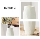 Вазы украшения венчания вазы искусственного цветка вазы античной керамической вазы венчания декоративной самомоднейшие белые керамические Tabletop малые