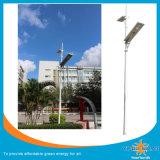 유럽식 태양 정원 램프, 태양 LED 빛