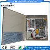 Cadre de bloc d'alimentation 12V 156W pour le cadre d'appareil-photo de télévision en circuit fermé (12VDC13A8P)