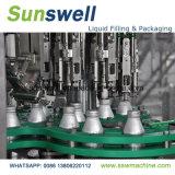 Máquina de rellenar rotatoria del jugo de aluminio de la botella