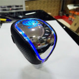 LED Universal Shift Gear Knob com logotipo do carro