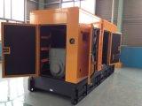 300kw/375kVA Doosanの防音のおおい機構のディーゼル発電機セット
