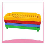 2017 가을 최신 판매 유치원 가구 다채로운 PP 플라스틱 아기 간이 침대 침대