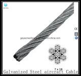 Câble en acier galvanisé 7X19 - Câble d'aéronef