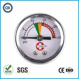 Медицинские газ или жидкость давления поставщика манометра давления воздуха 006