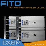 Cilindro neumático del aire de la diapositiva de la serie de Cxsm por el tipo de SMC
