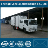 Isuzu 5tons 4X2 Qingling 600p 17cbm Gefriermaschine-LKW mit Kühlraum