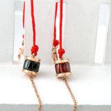 Различные варианты конструкции из нержавеющей стали мода ювелирные изделия ручной работы Красный трос браслет