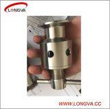 Tri Clamp válvulas de sobrepresión ajustable