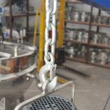 Alto miscelatore in lotti delle cesoie con il basamento