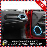 Rinnegato blu materiale del testo fisso di Cover&Speaker del cunicolo di ventilazione di stile dell'ABS dell'accessorio automatico (4PCS/SET)