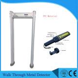 IP65 de nível elevado Waterproof a caminhada através do detetor de metais com sensibilidade elevada