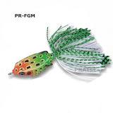 Richiamo morbido artificiale di pesca della rana dell'esca Pr-Fgm45 6.5g