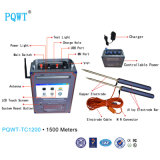 Pqwt-Tc1200 Detector 1500m van het Water van de Lange Waaier Ondergrondse de Detector van het Water Automapping