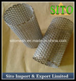 Filtro perfurado do cilindro do engranzamento do aço inoxidável/filtro do cartucho
