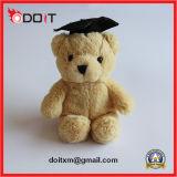 Juguetes rellenos del animal doméstico del oso de la graduación de la felpa