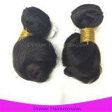 Prolonge brésilienne de cheveux humains de vente de Vierge desserrée chaude d'onde