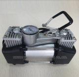 강력한 모터를 가진 두 배 실린더 차 공기 펌프