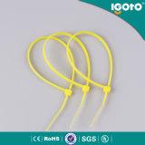 Relations étroites de moulage protégées UV de trappe de fil de relations étroites en plastique en nylon de câble d'UL