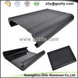 Disipadores de calor negros del perfil de la fundición de aluminio del coche del color