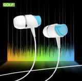GM4 fone de ouvido do auscultadores da em-Orelha do esporte 3.5mm para o iPhone Samsung com Mic