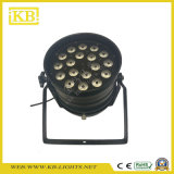 工場価格の段階装置18PCS 4in1フルカラーLEDの同価ライト