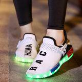 2017 grossista de fábrica misturar cores sapatos de LED de simulação
