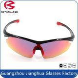 Nuevas gafas protectoras polarizadas del deporte de la seguridad de la lente del espejo de la manera polarizadas Gafas de sol deportivas de calidad superior