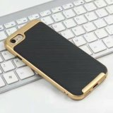 Caja de la fibra del carbón para el iPhone 7