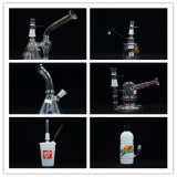 最も新しいデザインの普及したガラス再資源業者の管ガラス水煙る管