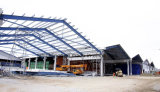 Almacén de la estructura de acero Q345 o Q235 de la buena calidad
