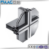 Profil en aluminium de mur rideau