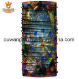 Изготовленный на заказ шарф рождества логоса напечатанный Headwear безшовный