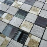 부엌과 목욕탕 벽을%s 건축재료 대리석 돌 그리고 유리 모자이크