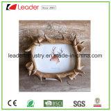 Cadre photo Wood-Look Polyresin décoratif pour la Maison et décoration de table